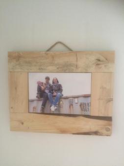 Bilderrahmen aus Palettenholz DIY
