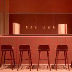 """Fünf Stilrichtungen geben den Takt an, u.a. """"Relax/Recharge"""". Ein Beispiel: Designbar in Stockholm von Note Studio. © Messe Frankfurt GmbH/Fotograf Mathias Nero AB"""