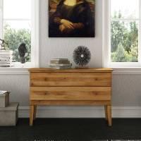 Schlafzimmer Kommode Masdamos aus Wildeiche Massivholz
