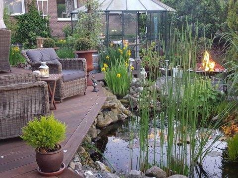 terrasse am teich die schönsten ideen für die terrasse - wohnkonfetti