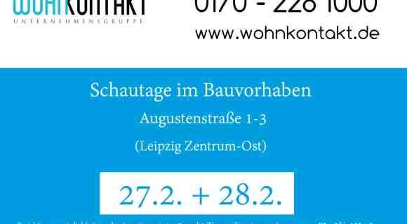 Augustenstraße 1-3: Schautage am 27.2. + 28.2.2016