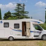 Ahorn Camp T 690 Plus Eco Modell 2019 Außenansicht Beifahrerseite