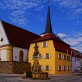 Marktplatz in Nordheim