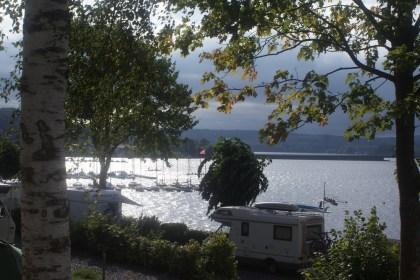 Möhnesee - vom Stellplatz