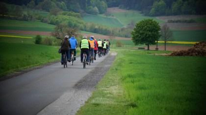 Auf dem Weg nach Diebach
