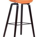 Barhocker Anaheim Stoff 4 Fuss Gestell Orange Walnuss Eiche Moebel Suchmaschine Ladendirekt De