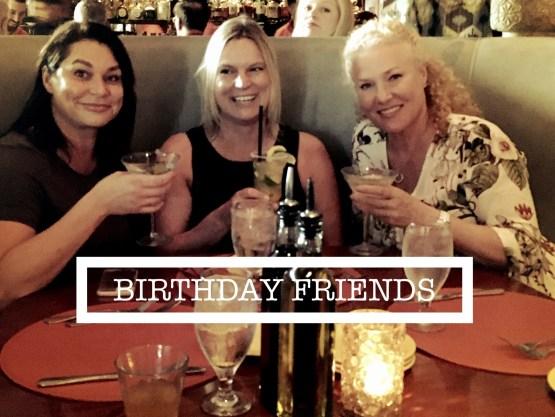 Geburtstags-Abendessen und Drinks vor dem Film-Festival
