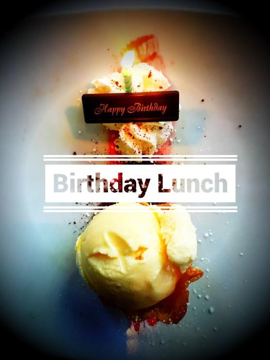 Geburtstags-Mittagessen