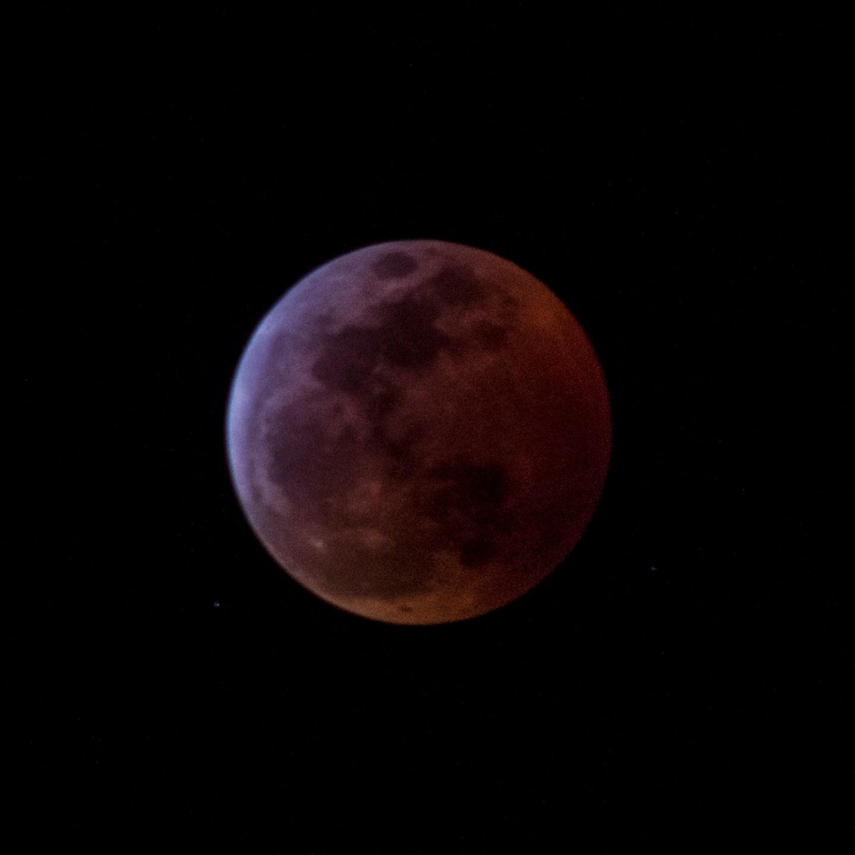 Mondfinsternis 2019: Der Blutmond
