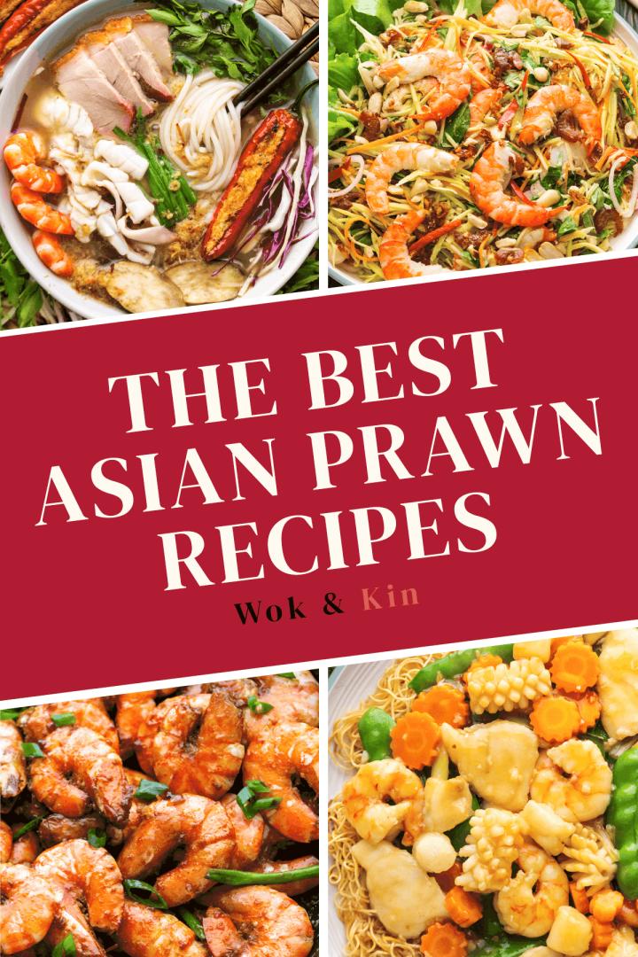Asian Prawn Recipes.
