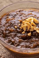 Hoisin Peanut Sauce in a bowl.