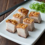 Crispy Roasted Pork Belly (Siew Yoke)