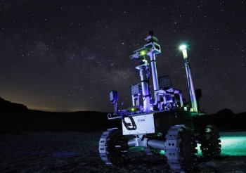 Laser Powered Rover will Explore Dark Lunar Craters