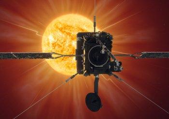 ESA's Solar Orbiter approaches the Sun