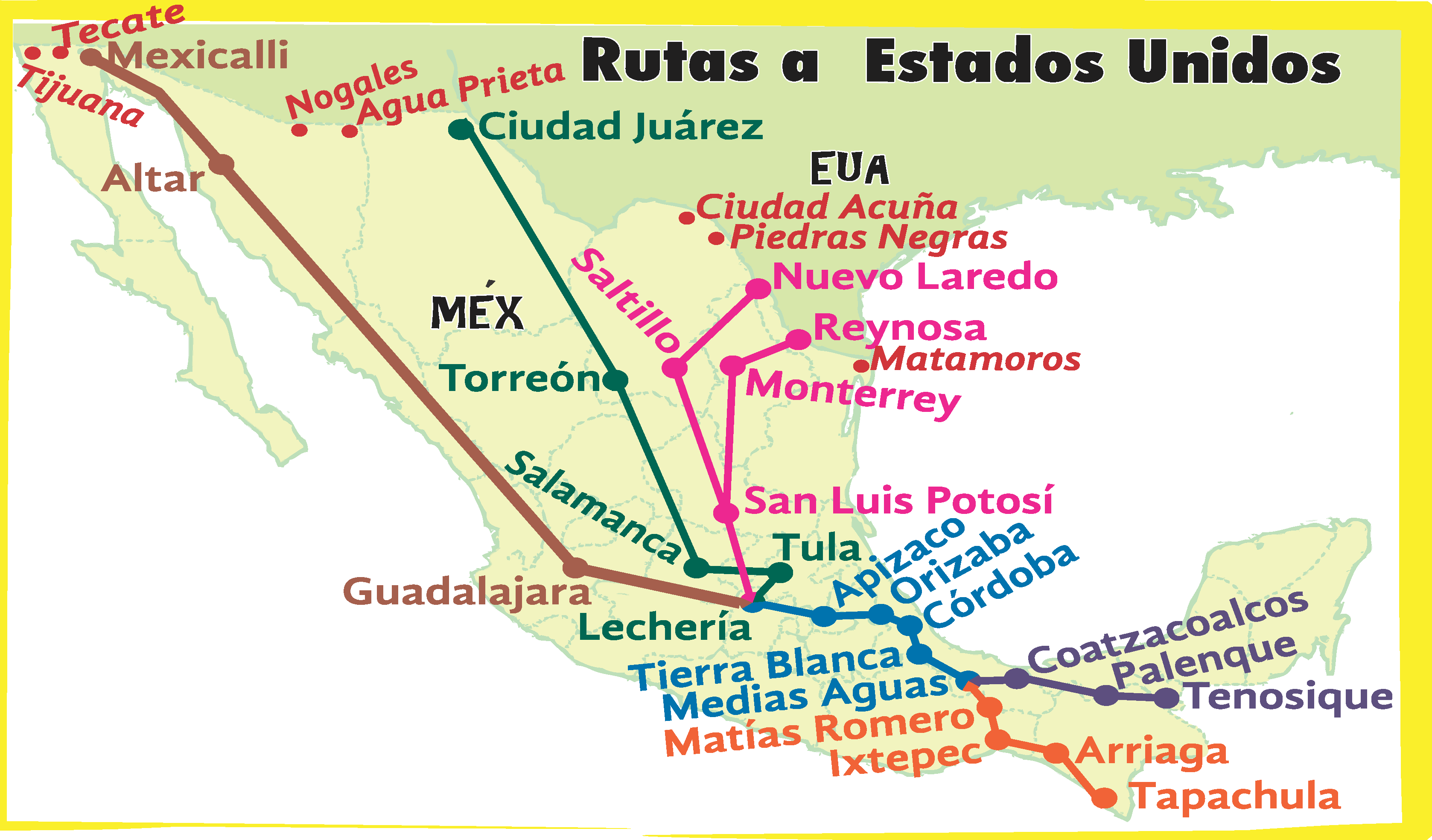 Mexico S Other Border Security Migration And The