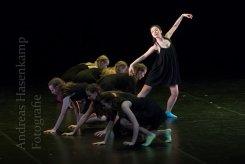 Ballettstudio Tenbrock beim Tanzfestival Münster 2017 im Großen Haus des Theaters Münster. Foto: A. Hasenkamp, Fotograf in Münster.