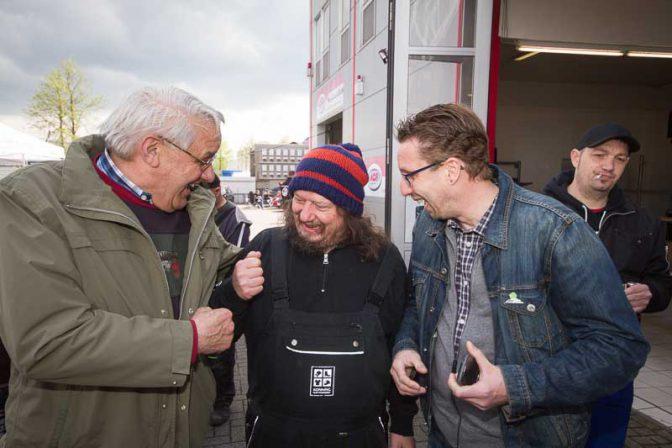 Das L-Team von Peter Ludolf zu Gast beim Tag der Offenen Tür von ACR Münster mit vielen Tuning-Freunden und liebevoll gestalteten Autos.