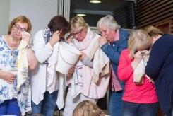 In Tränen aufgelöst: Prélude zum Theaterstück der kfd-Frauen für 2018?