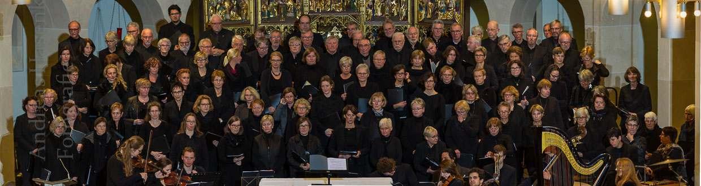 Johannes Brahms Ein deutsches Requiem in der Jakobikirche in Coesfeld, 2016. Foto: A. Hasenkamp, Fotograf in Münster.
