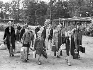 Deutsche auf der Flucht