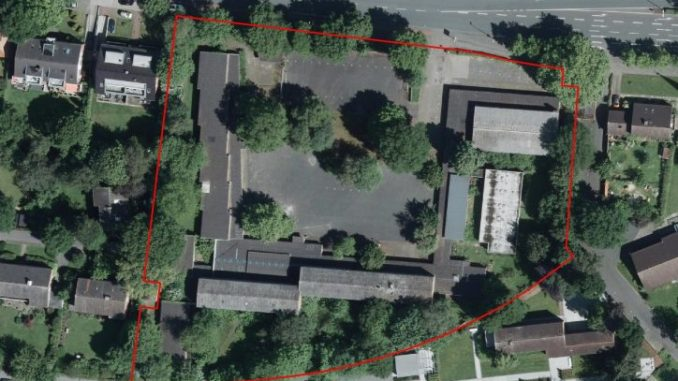 Luftbild Wartburgschule