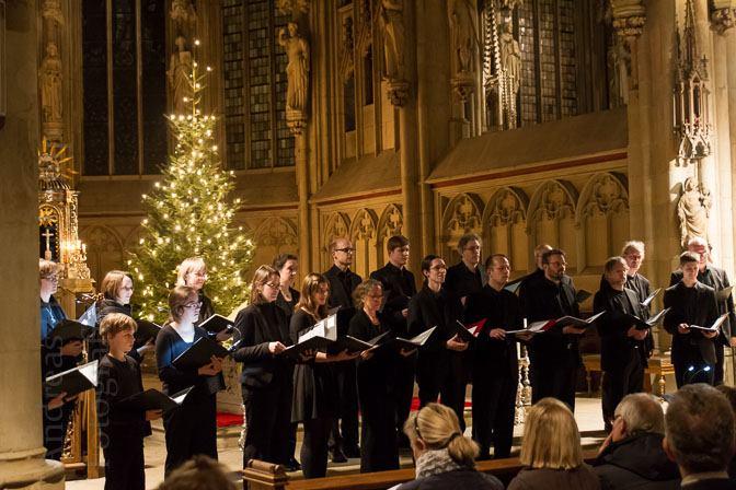Weihnachtskonzert in St. Lamberti mit dem Kammerchor von St. Lamberti und Solisten. Foto: anh.