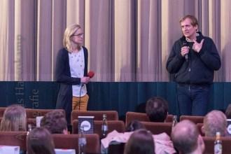 """Gespräch mit Lars Kraume über seinen Film """"Das schweigende Klassenzimmer"""". Foto: A. Hasenkamp, Fotograf in Münster."""