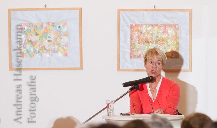 Lesung von Randi Crott im Achatius-Haus in Münster-Wolbeck.