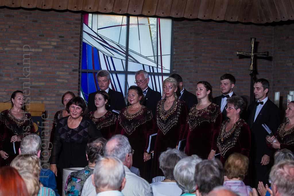 """Ka""""Tulpen aus Amsterdam"""" bot den Gästen aus Gumbinnen Gelegenheit, vom großen Publikum noch mehr als Applaus zu hören. Foto: A. Hasenkamp, Fotograf in Münster."""