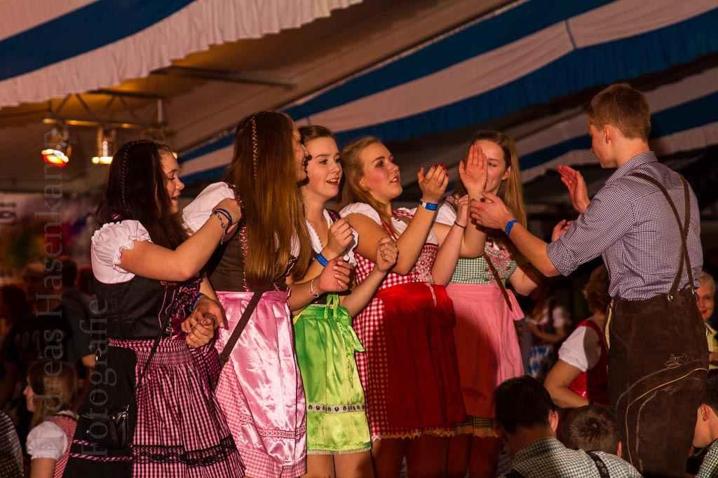 Fotos vom Oktoberfest 2015 der KG ZiBoMo in Wolbeck