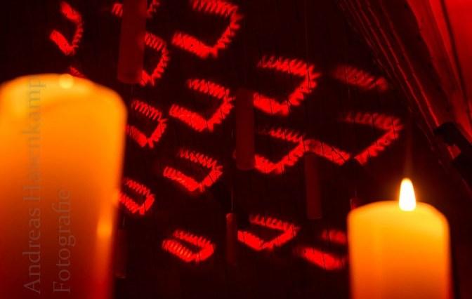 """""""Lichternacht"""" 2015 des Gewerbevereins Wolbeck besticht mit Licht-Erlebnissen 2"""