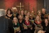 Latin Jazz Mass mit dem Chor der Friedenskirche aus Angelmodde in der Christuskirche in Münster-Wolbeck 2017. Foto: A. Hasenkamp, Fotograf in Münster.