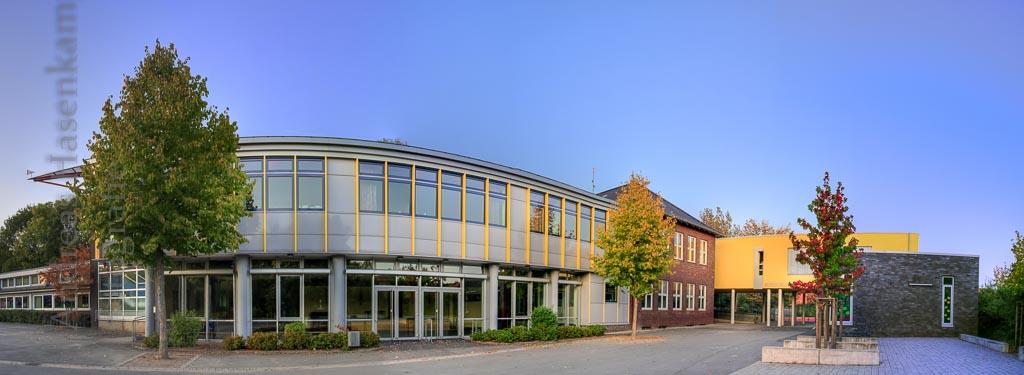 Panorama-Foto der Nikolai-Grundschule Wolbeck 2009. Foto: A. Hasenkamp, Fotograf in Münster.