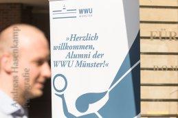Alumnitag 2018 der WWU Münster im Fürstenberghaus. Foto: A. Hasenkamp.