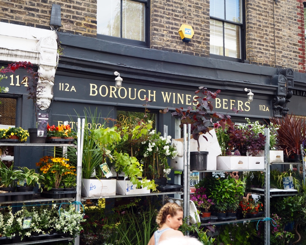 Columbia Road tiny trail - Borough Wines