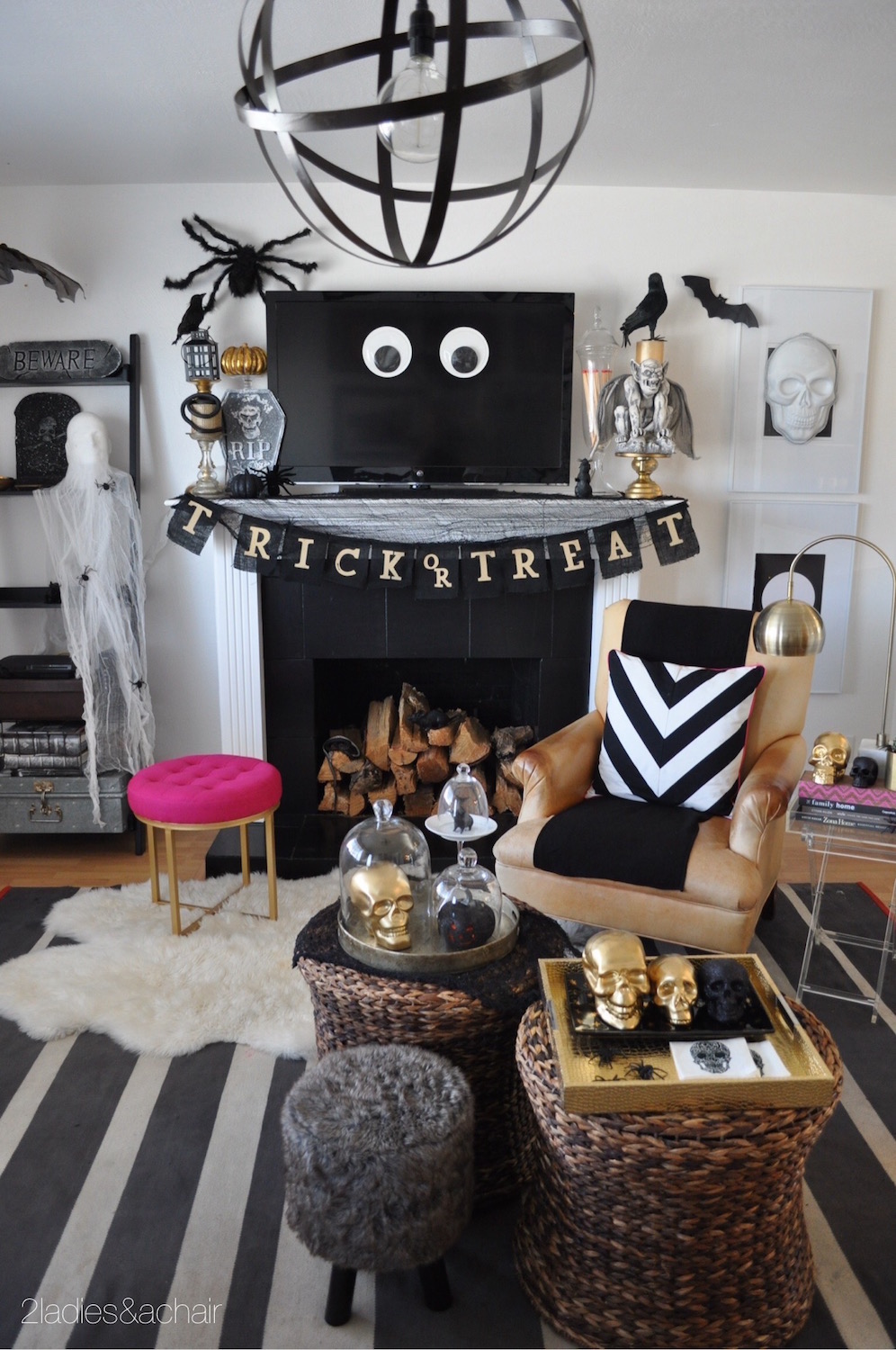 Friday Finds: Halloween Interiors   Wolf & Stag