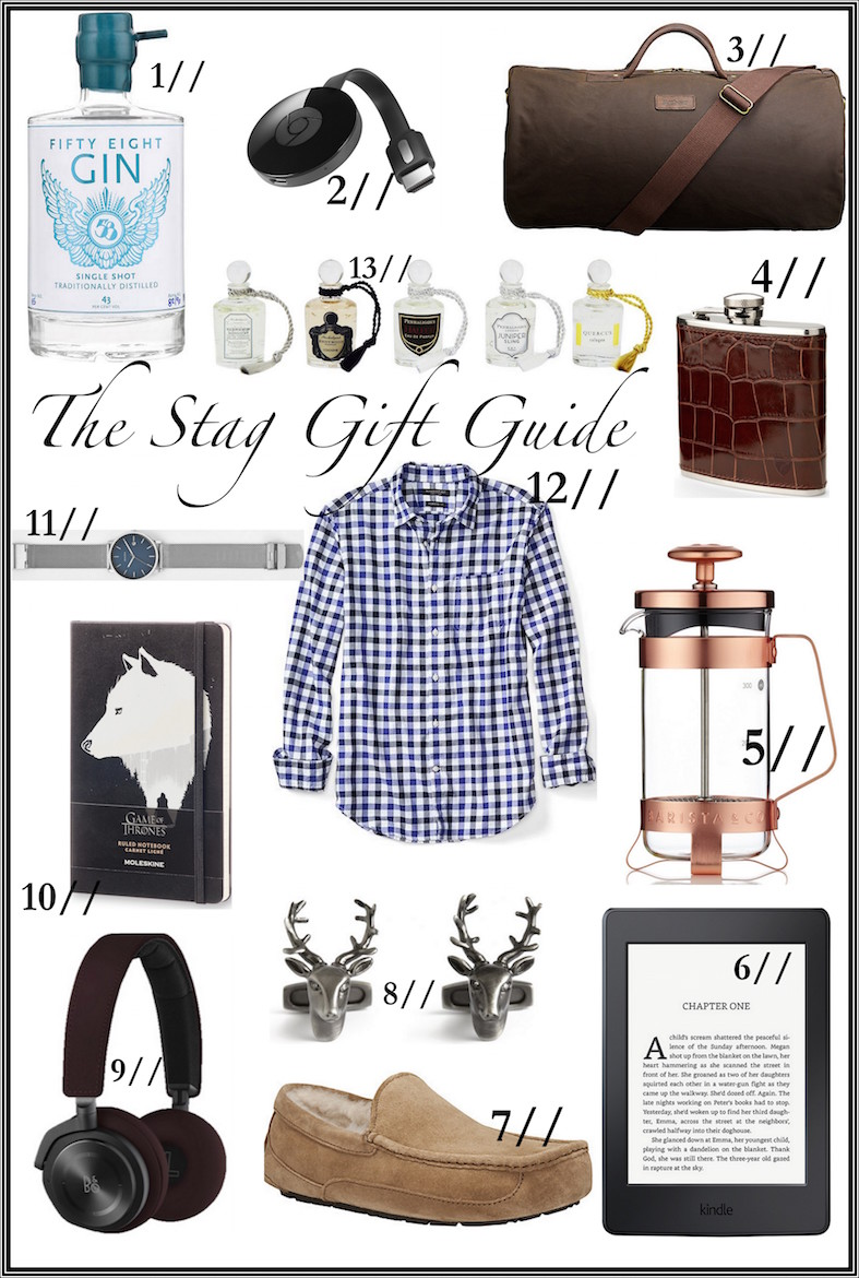 The Stag Gift Guide (For Him) | Wolf & Stag