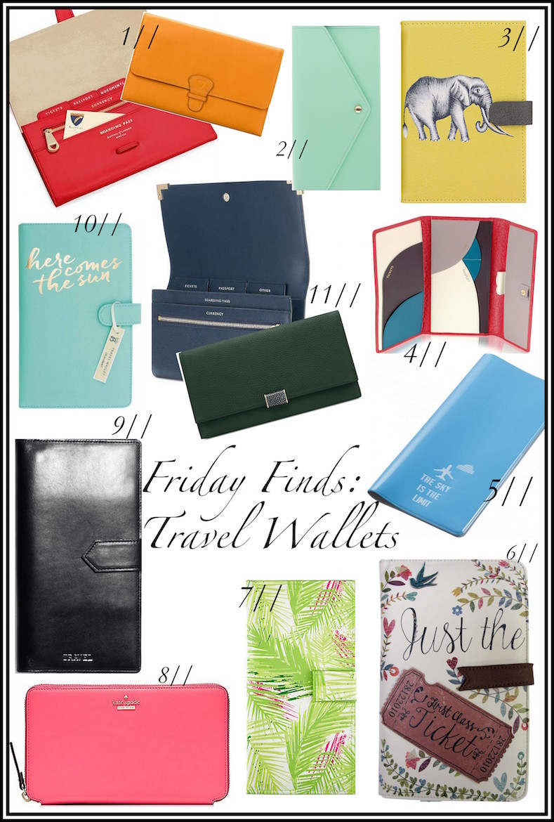 Friday Finds - The Best Travel Wallets | Wolf & Stag
