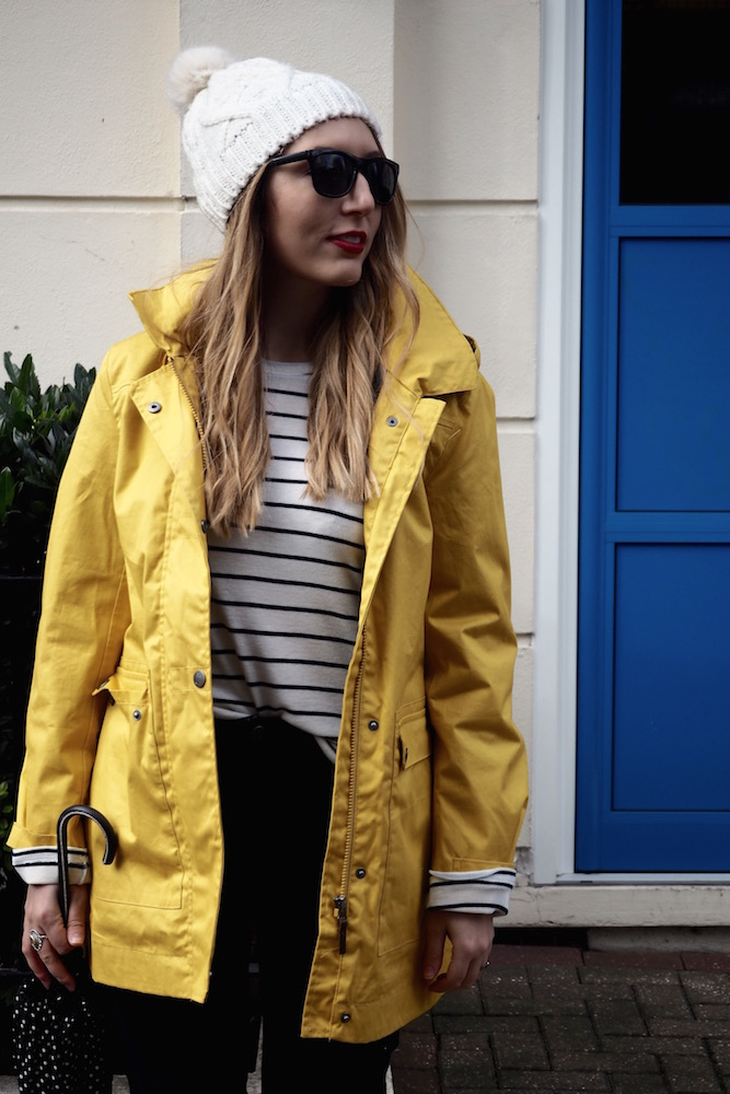 April Showers and a Yellow Raincoat   Wolf & Stag