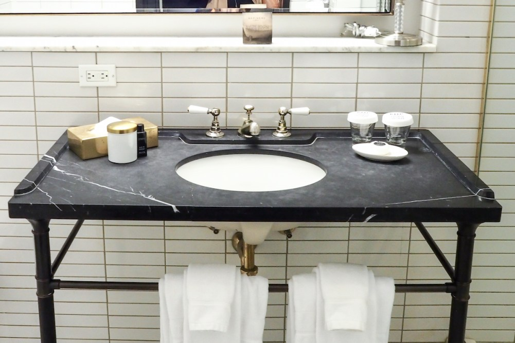 The Refinery Hotel - Bathroom | Wolf & Stag