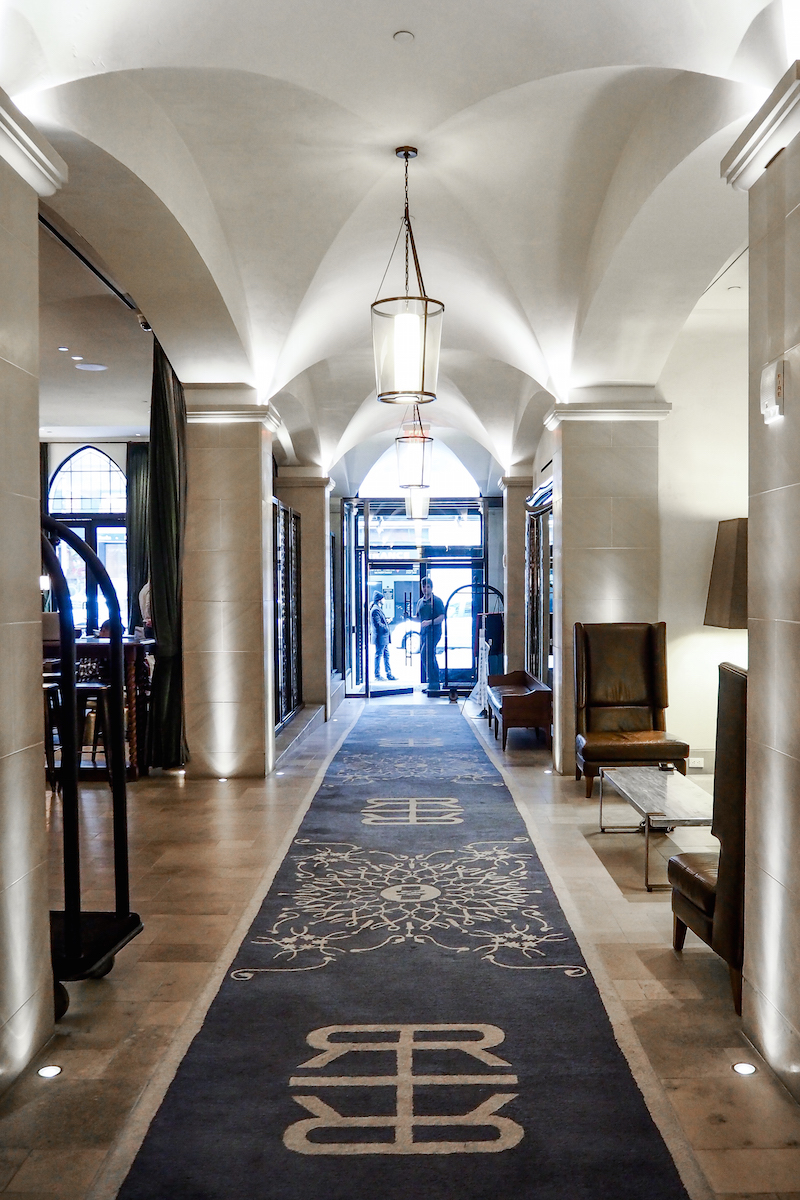 The Refinery Hotel - Reception Hallway | Wolf & Stag