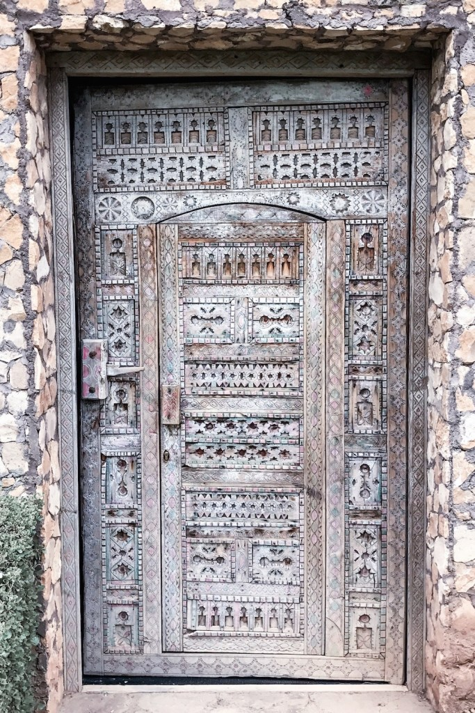 The most beautiful intricate door at Hotel Capaldi, Marrakech, Morocco | Wolf & Stag