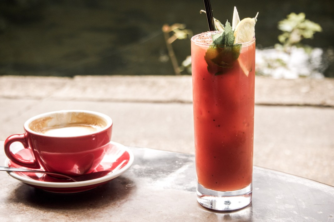 The 5 Best Bloody Marys in London   Barge House, Haggerston   Wolf & Stag