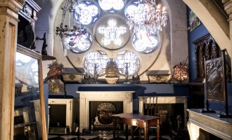 Discovering Antiques & Fireplaces at Westland London | Wolf & Stag