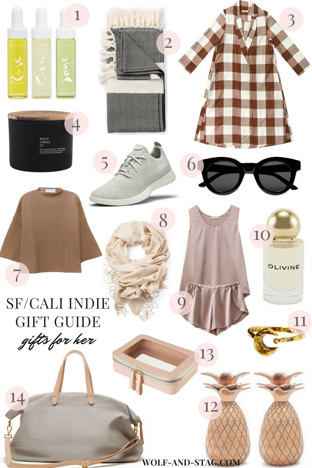 The Independent Holiday Gift Guide (San Francisco) | Gifts for Her | Wolf & Stag