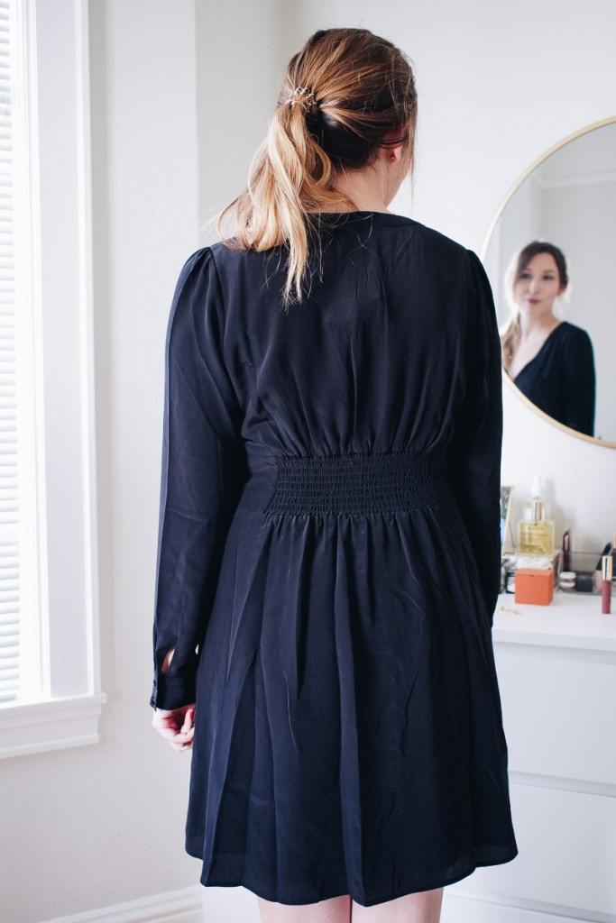 An Honest Review of Sezane | Featuring the Dune Dress Black, Size US 8 | Wolf & Stag