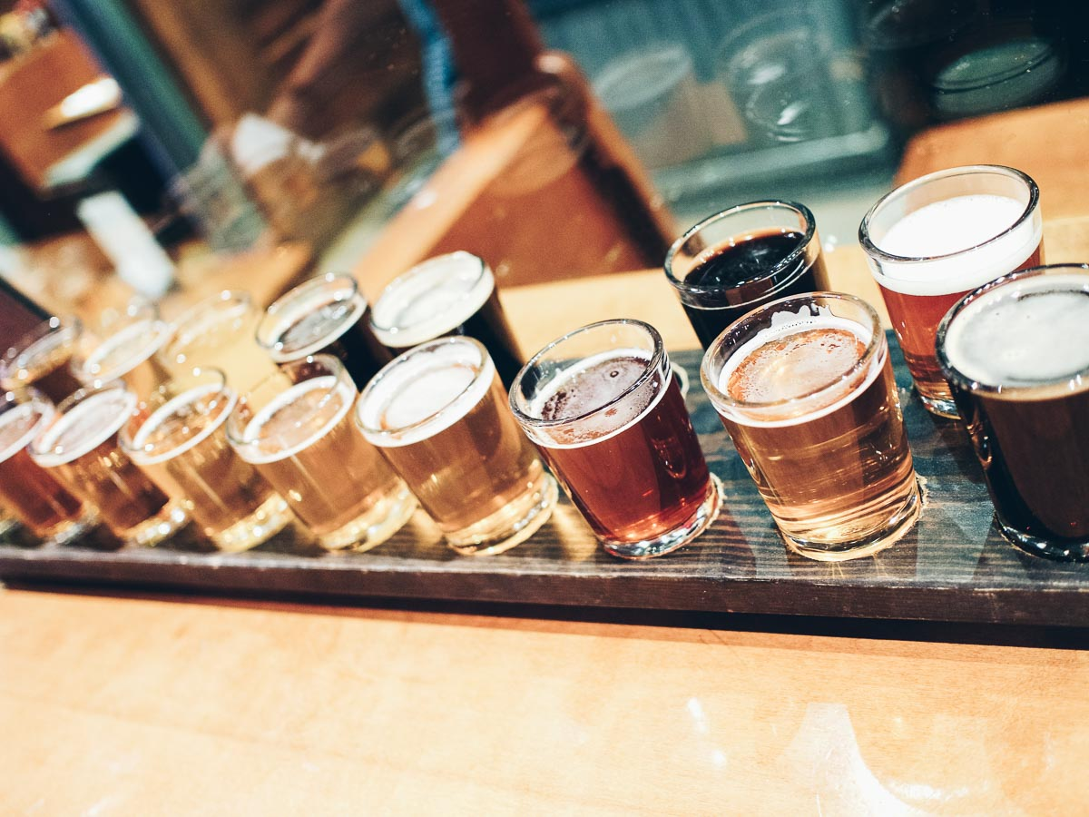 One Night in Wine Country   Beer Samples in Santa Rosa   Wolf & Stag Adventures