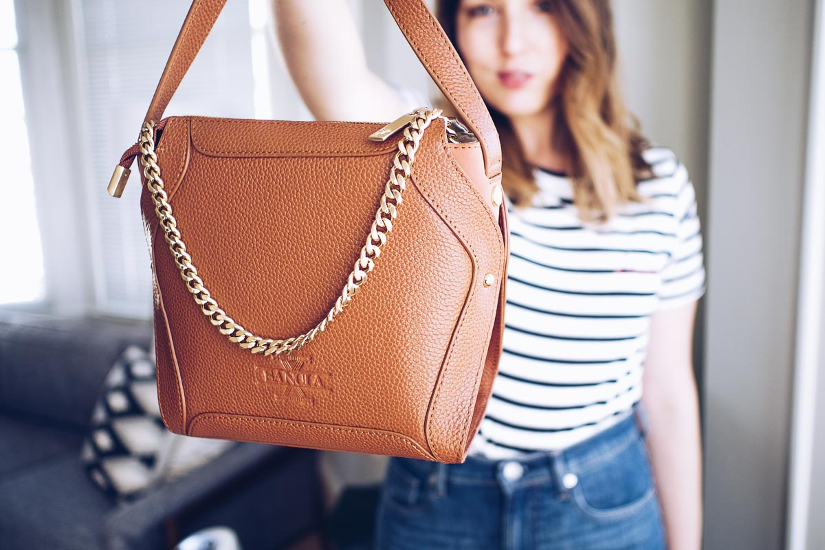 4e8cb691d69 The Affordable Designer Bag Edit  The Best Bags From Under The Radar  Designers   Featuring