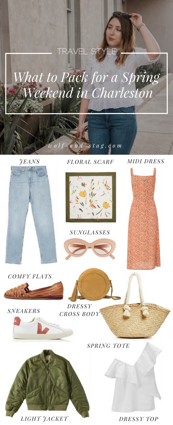 Travel Style: What to Pack for a Spring Weekend in Charleston | Wolf & Stag