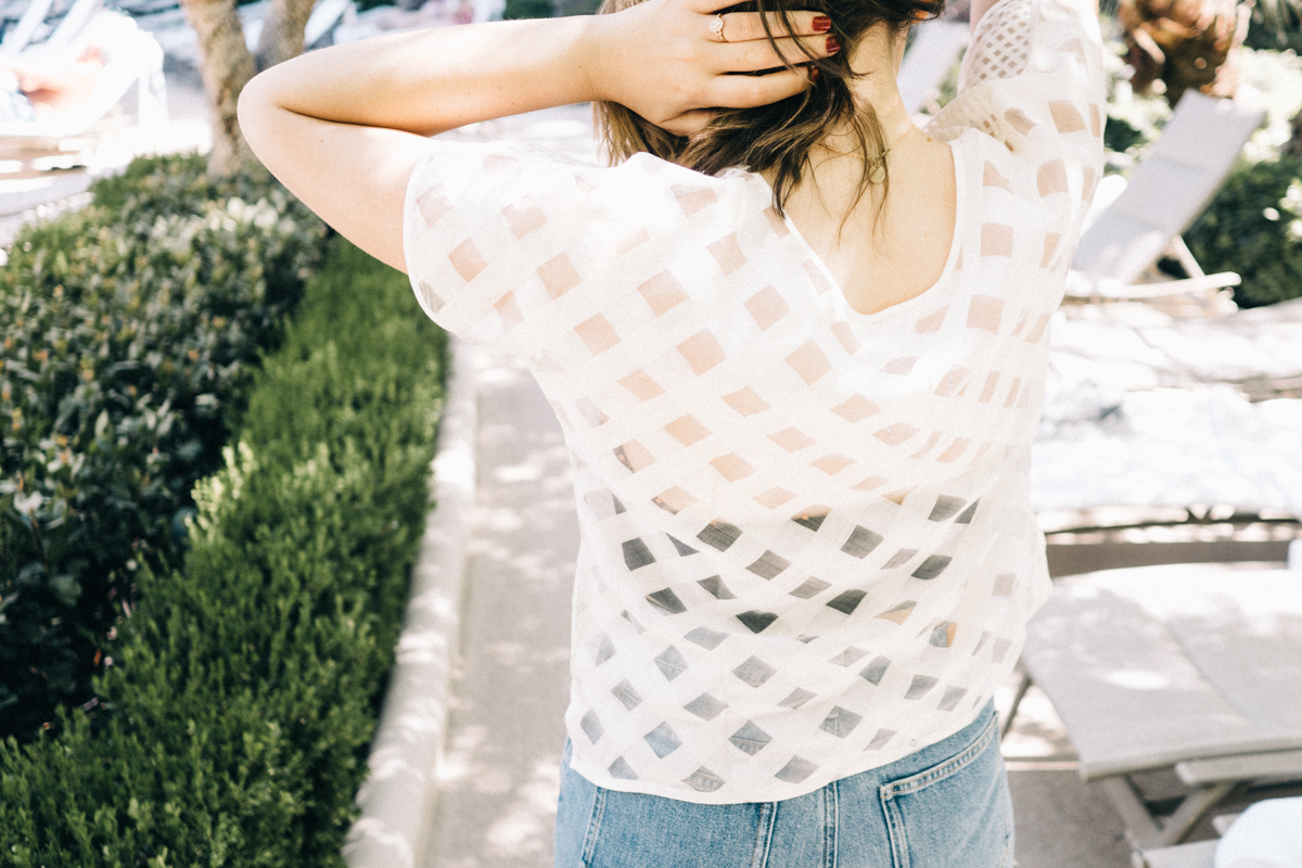 Sustainable Style: Why Fit Matters | Featuring the Indigo Handloom Mixed Check Crop Top | Wolf & Stag